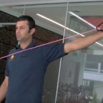 resistance band cricket training